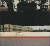 Wim Blom-Storm over Venice 2008 Collage 14 x 14 cm
