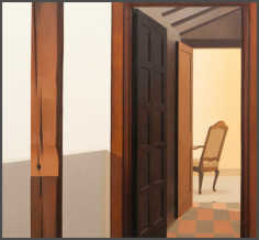 Wim Blom-The inner room 2011 Oil on canvas 66 x 71 cm