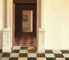 Wim Blom-Empty rooms 2006 oil on canvas 60 x 70 cm-84m
