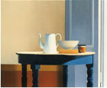 Wim Blom-Table in Sunlight 2013 oil on canvas 71 x 86.3 cm-28 x 34 inches